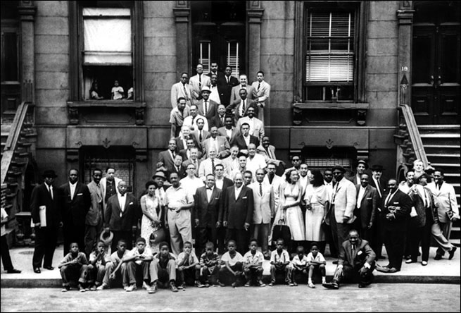 1958 Harlem Jazz, part of the Harlem Renaissance