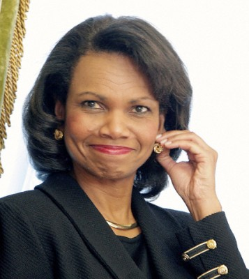 Condoleezza Rice was