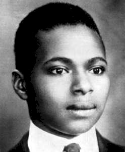 African American poet and member of the Harlem Renaissance Countee Cullen