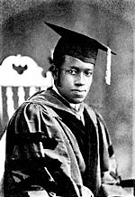 Elbert Frank Cox (1895-1969). A.B., Indiana University, 1918; Ph.D., Cornell University, 1924. First African American to earn a Ph.D. in Mathematics.