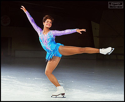 Debi Thomas the first African American to win a medal at the Winter Olympics