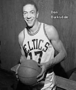 Don Barkdsdale the first African American to play with the U.S. Olympic team.