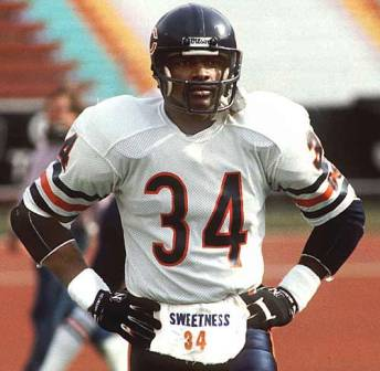 Walter Payton African American Football Legend