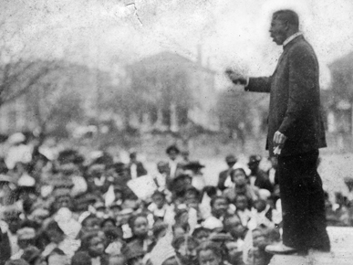 the atlanta exposition adress No 12 booker t washington and the atlanta compromise by 1895, booker t  washington, who was born a slave, had risen to become the most powerful, and .