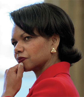 condi rice and dating