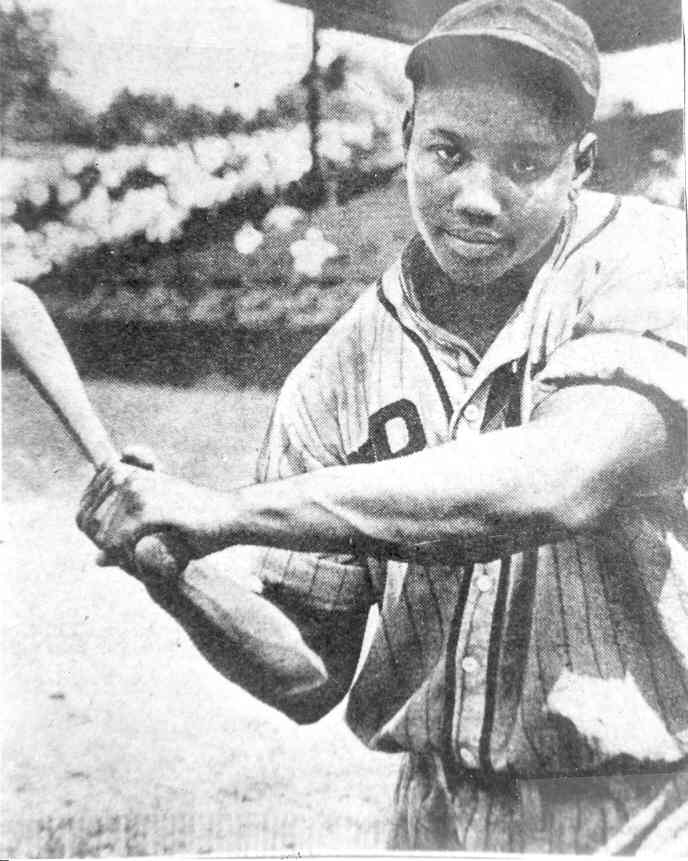 Josh Gibson great African American baseball player in the Negro baseball league