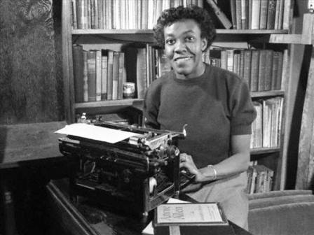 Pulitzer prize African American writer Gwendolyn Brooks