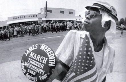 part of the march against fear march where James Meredith was shot
