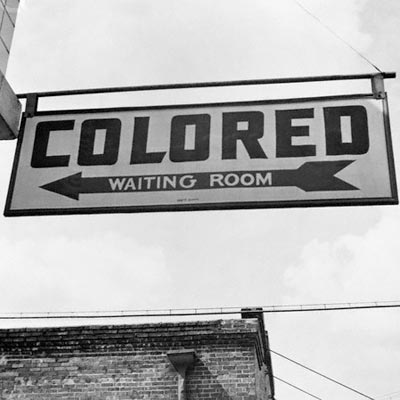 Jim Crow laws allowed for seperation of blacks and whites in all areas of the South