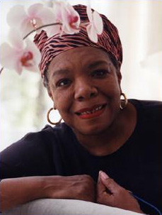 African American writer,, actor, composer Dr. Maya Angelou