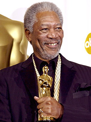 Morgan Freeman African American Actor