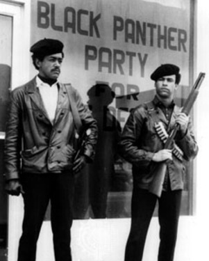 black panthers African American  political party