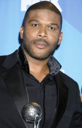 tyler perry at the NAACP awards