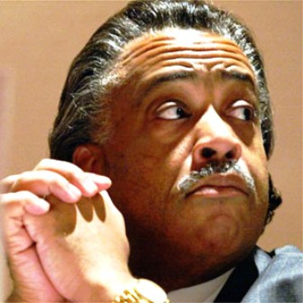 Reverend Al Sharpton, fighting for the civil rights cause