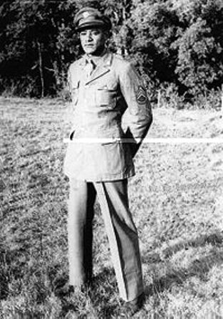 Staff Sergeant Ruben Rivers winner of the Medal of Honor in World WarII
