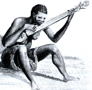 Africans used a variety of insturments for music