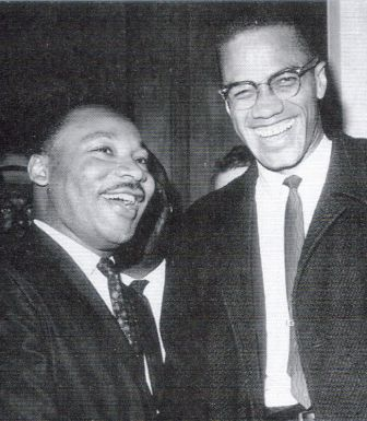 the only photo of Malcolm X and Martin Luther King jr.